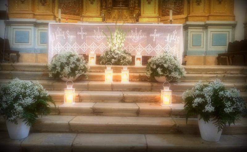 Decoración Iglesia para boda